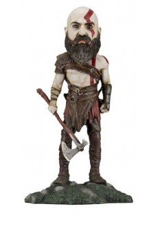 Figura Kratos - Head Knocker - God Of War - Neca
