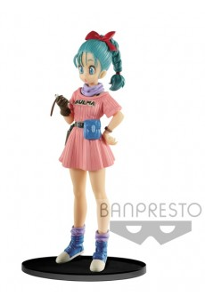 Figura Bulma - Dragon Ball - SCultures - Banpresto