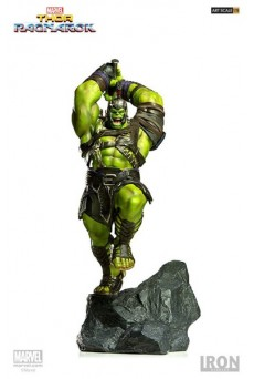 Estatua Hulk - Thor: Ragnarok - Marvel - Battle Diorama Series - Iron Studios