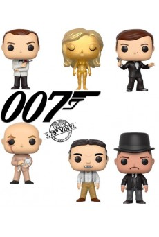 Figuras Funko Pop Vinyl - James Bond