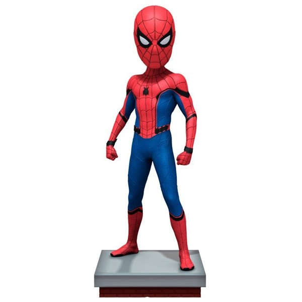 Figura Spiderman - Spiderman Homecoming - Head Knockers - Neca