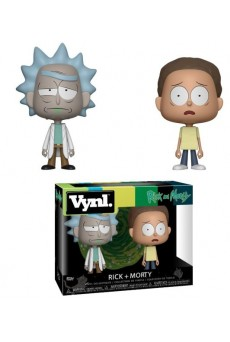 Pack Figuras Rick & Morty - VYNL - Funko