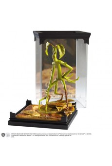 Estatua Diorama Bowtruckle – Magical Creatures – Animales Fantásticos – Noble Collection