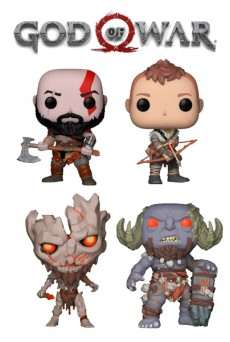 Figuras Funko Pop Vinyl - God Of War