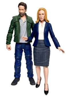 Figuras Fox Mulder & Dana Scully - Expediente X - Diamond Select