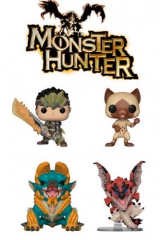 Figuras Funko Pop Vinyl - Monster Hunter