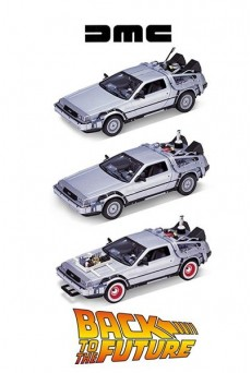 DELOREAN – Coche Regreso al Futuro – Welly 1/24