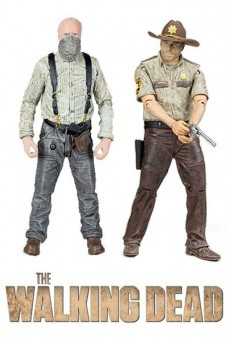 Figura RICK GRIMES – HERSHEL GREENE - MICHONNE - The Walking Dead - McFarlane Toys