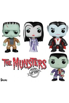 Figuras Funko Pop Vinyl - La Familia Monster