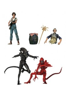 Figuras Alien – Ripley – Bishop – Genocide Alien Red & Black - Neca