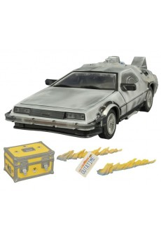 Delorean – Iced Time Machine Collector Set – Regreso al Futuro