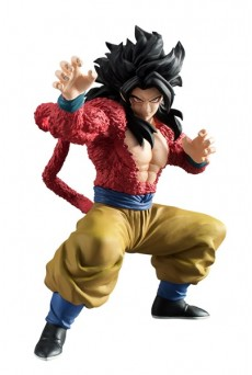 Figura Son Goku Super Saiyan 4 – Dragon Ball Styling – Bandai Shokugan