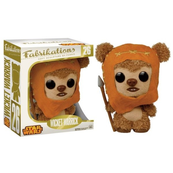 peluche ewok wicket fabrikations star wars funko. Black Bedroom Furniture Sets. Home Design Ideas