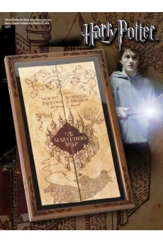 Expositor Mapa del Merodeador – Harry Potter – Noble Collection