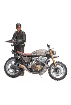 Figura Daryl Dixon con Chopper – The Walking Dead – McFarlane Toys