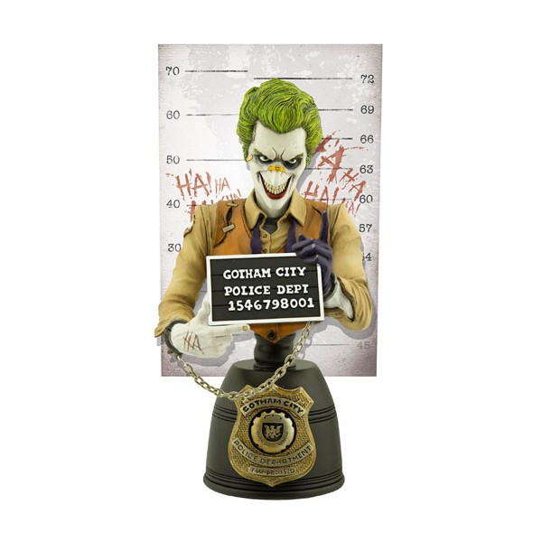 Busto The Joker Mugshot – Cryptozoic Entertainment