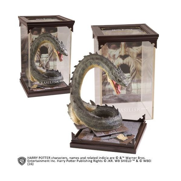 Estatua Diorama Basilisco – Magical Creatures – Harry Potter – Noble Collection
