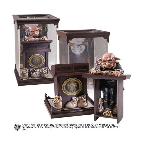 Estatua Diorama Duende de Gringotts – Magical Creatures – Harry Potter – Noble Collection