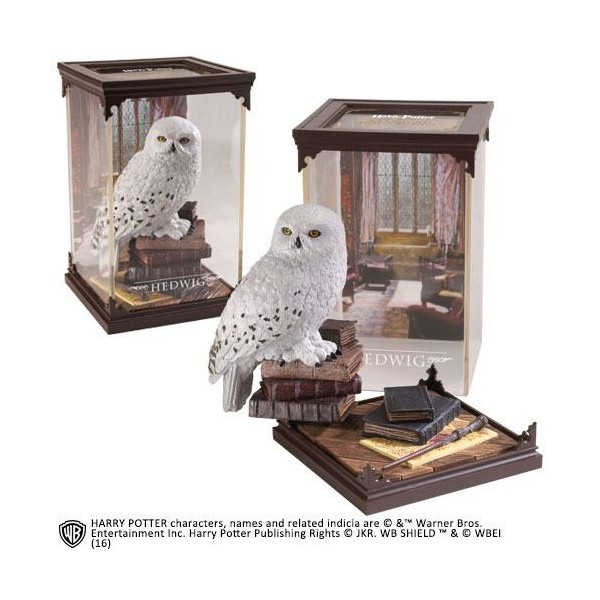 Estatua Diorama Hedwig – Magical Creatures – Harry Potter – Noble Collection