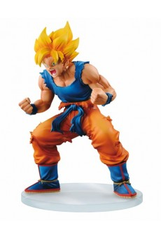 Figura Goku Saiyan – Dragon Ball Z - Dramatic Showcase – Banpresto