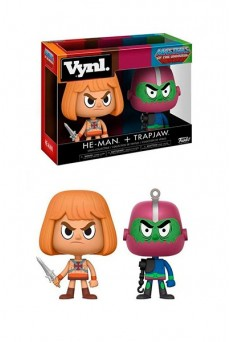 Pack Figuras He-Man & Trap Jaw - VYNL - Funko