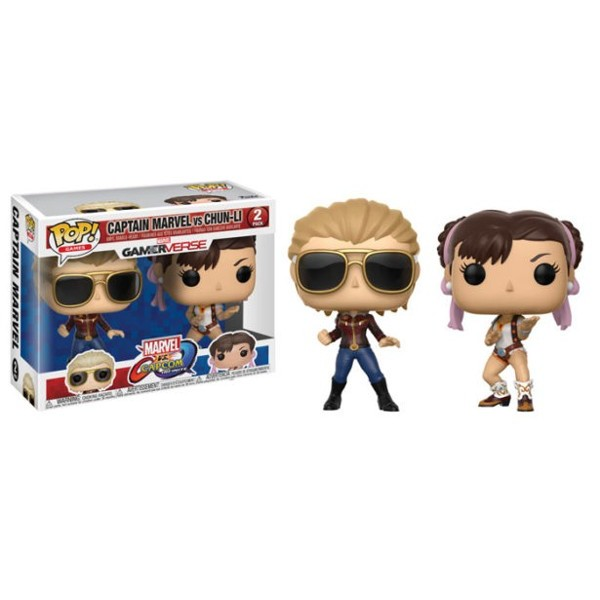 Figuras Funko Pop Vinyl - Marvel VS Capcom