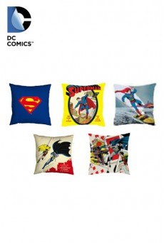 Cojines DC Cómics - Superhéroes - Batman - Superman