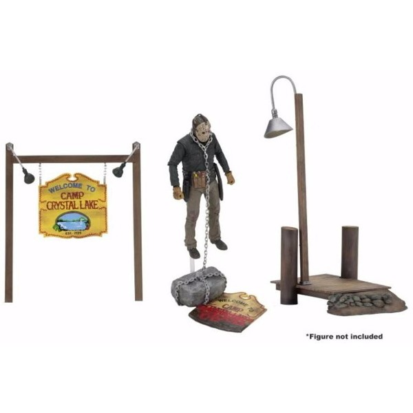 Pack de accesorios Camp Crystal Lake set - Viernes 13 - Neca