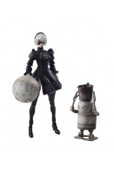 Figuras 2B & Machine Lifeform - NieR Automata - Bring Arts - Square Enix