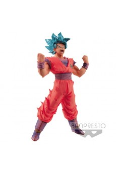 Figura Goku Super Saiyan Azul - Dragon Ball Super - Blood of Saiyans - Banpresto