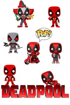 Figuras Funko Pop Vinyl - Deadpool - Marvel
