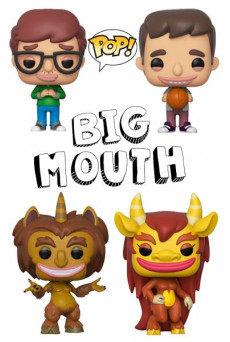 Figuras Funko Pop Vinyl - Big Mouth