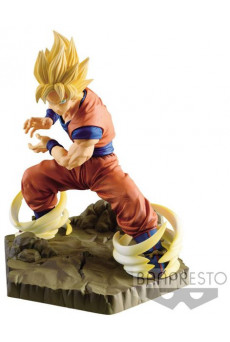 Figura Super Saiyan Goku - Dragon Ball Z - Absolute Perfection - Banpresto