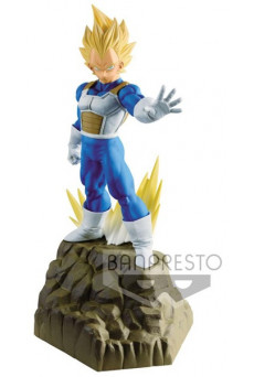 Figura Super Saiyan Vegeta - Dragon Ball Z - Absolute Perfection - Banpresto