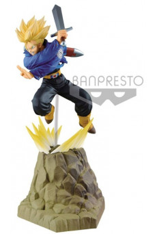 Figura Super Saiyan Trunks - Dragon Ball Z - Absolute Perfection - Banpresto