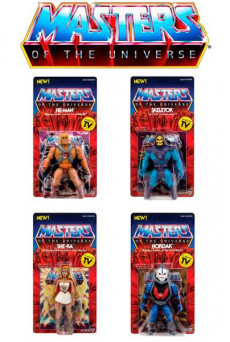 Figuras Masters of the Universe Vintage Collection - Super7
