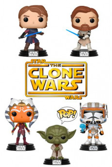 Figuras Funko Pop Vinyl - Star Wars: The Clone Wars