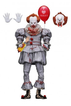 Figura Ultimate Pennywise (I Heart Derry) - It 2017 - Neca