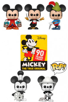Figuras Funko Pop Vinyl - Disney - Mickey Mouse 90th Anniversary
