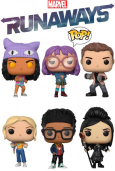 Figuras Funko Pop Vinyl - Marvel - Runaways