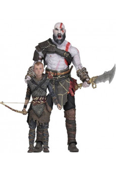 Pack figuras Ultimate Kratos & Atreus - God of War - Neca