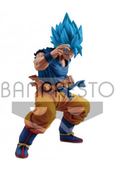 Figura Son Goku Super Saiyan Dios - Dragon Ball Super - Masterlise - Banpresto
