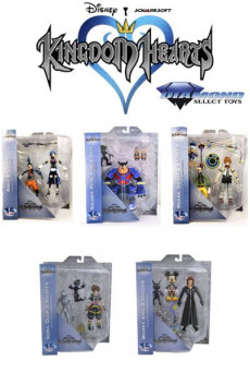 Figuras Kingdom Hearts - Diamond Select Toys