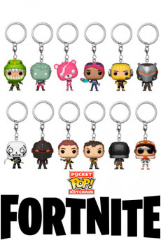Llaveros-Figuras Funko Pocket Pop Keychain - Fortnite