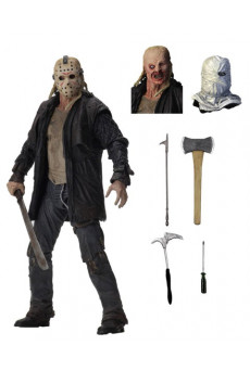 Figura Ultimate Jason - Viernes 13 (2009) - Neca