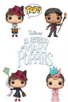 Figuras Funko Pop Vinyl - El Regreso de Mary Poppins