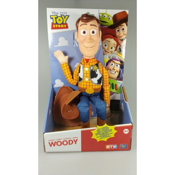 8957c26f2e816 Muñeco Woody - Toy Story - Thinkway Toys - 40 cm. - Comprar