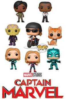 Figuras Funko Pop Vinyl - Marvel - Capitana Marvel