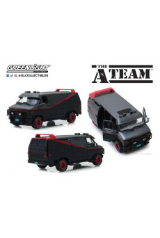 Furgoneta El Equipo A - 1983 GMC Vandura 1:18 - Greenlight Collectibles