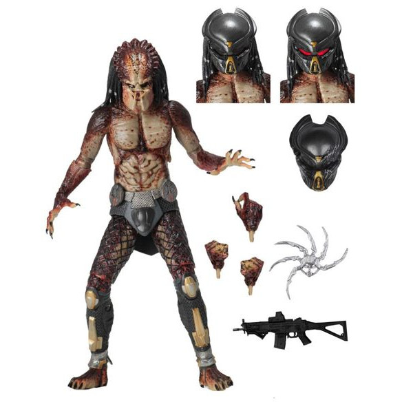 Figura Ultimate Fugitive Predator (Lab Escape) - Predator 2018 - Neca